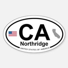 Northridge Sticker (Oval)