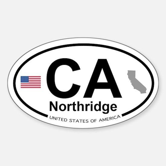 Northridge Sticker (Oval)