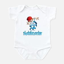 Skateboarding Infant Bodysuit