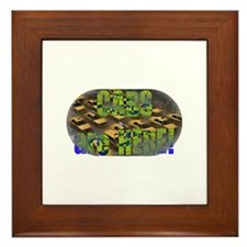 Cute Situation Framed Tile