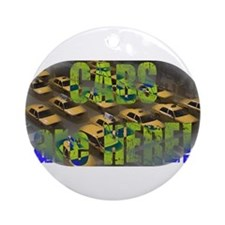 Cute Pauly Ornament (Round)