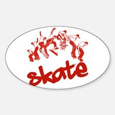 Skateboarding Decal