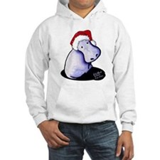 Holiday Hippo Hoodie