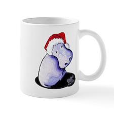 Holiday Hippo Mug
