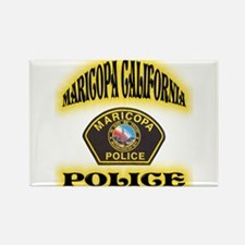 Maricopa Police Rectangle Magnet