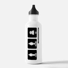 LEADS FOLLOWS DJS Water Bottle