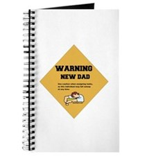 Warning New Dad Journal