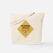 Warning New Dad Tote Bag