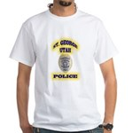 St George Police White T-Shirt
