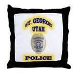 St George Police Throw Pillow