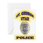 St George Police Greeting Cards (Pk of 10)
