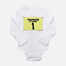 Tri Training Long Sleeve Infant Bodysuit