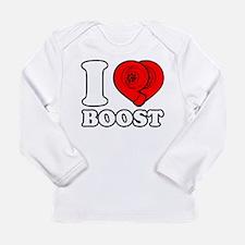 I Heart Boost Long Sleeve Infant T-Shirt