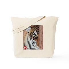 PAWS Tiger Tote Bag