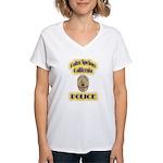 Palm Springs CA Police Women's V-Neck T-Shirt