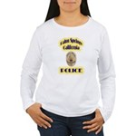 Palm Springs CA Police Women's Long Sleeve T-Shirt