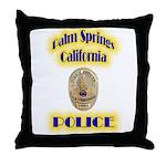 Palm Springs CA Police Throw Pillow
