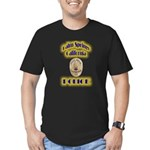 Palm Springs CA Police Men's Fitted T-Shirt (dark)