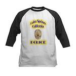 Palm Springs CA Police Kids Baseball Jersey