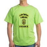 Palm Springs CA Police Green T-Shirt