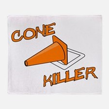 Cone Killer Throw Blanket