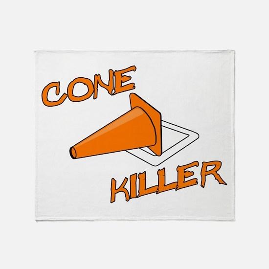 Cone Killer Throw Blanket