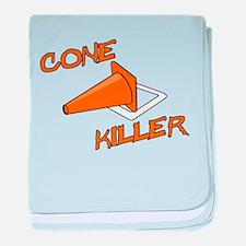 Cone Killer baby blanket