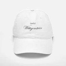 Wittgenstein (early) Baseball Baseball Cap