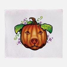 The Great Pupkin Throw Blanket