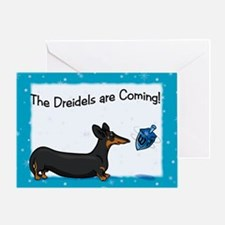 Bt Hanukkah Dog Greeting Card