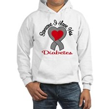 Someone I Love Has Diabetes v Jumper Hoody