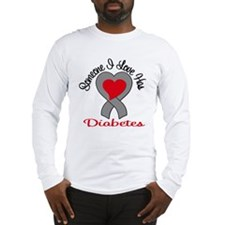 Someone I Love Has Diabetes v Long Sleeve T-Shirt