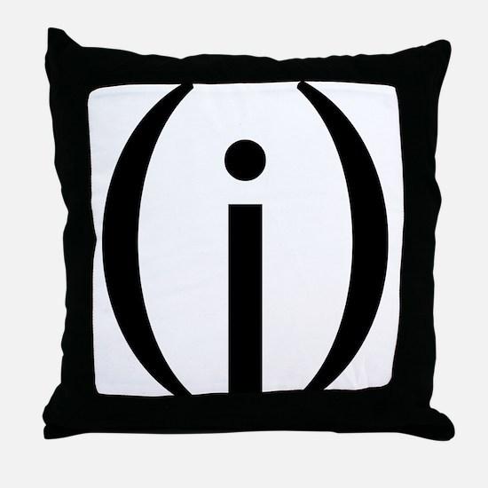 Funny Vagina Throw Pillow