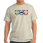 Eat Sleep Bake Light T-Shirt