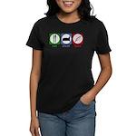 Eat Sleep Bake Women's Dark T-Shirt