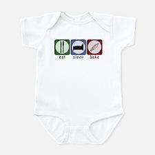 Eat Sleep Bake Infant Bodysuit