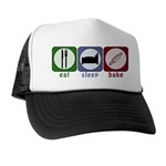 Eat Sleep Bake Trucker Hat