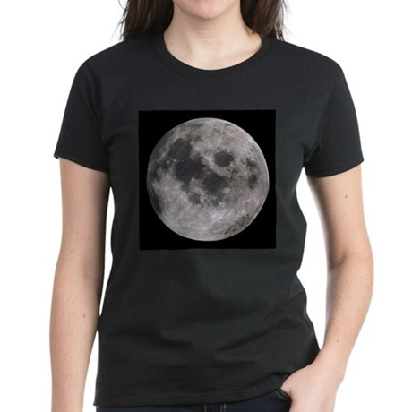 Moon Women's Dark T-Shirt