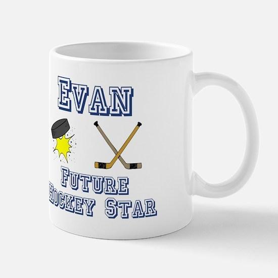 Evan - Future Hockey Star Mug
