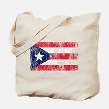 Puerto Rican Pride Flag Tote Bag