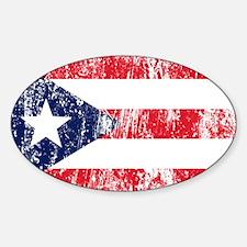 Puerto Rican Pride Flag Decal