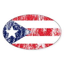 Puerto Rican Pride Flag Stickers