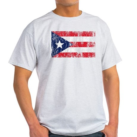 Puerto Rican Pride Flag Light T-Shirt