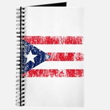 Puerto Rican Pride Flag Journal