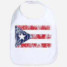 Puerto Rican Pride Flag Bib