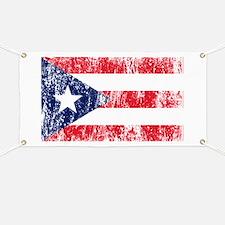 Puerto Rican Pride Flag Banner