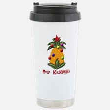 mele kalikimaka Stainless Steel Travel Mug