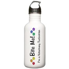 Bite Me Vet Tech Sports Water Bottle
