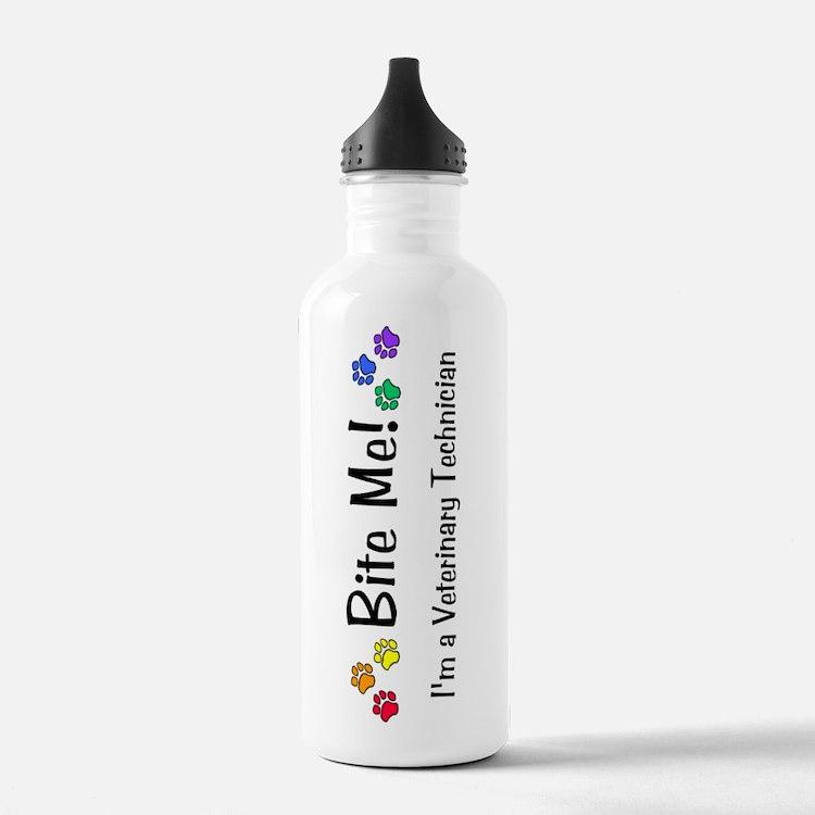 Bite Me Vet Tech Water Bottle
