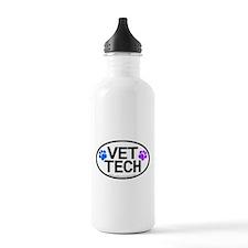 Vet Tech oval Sports Water Bottle